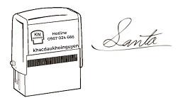 Khắc dấu chữ ký chuyên nghiệp