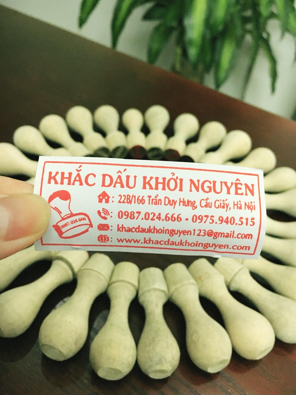 Công ty khắc dấu giá rẻ hàng đầu Hà Nội